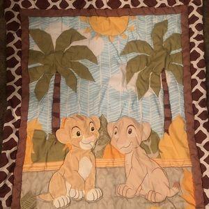 Other - Lion King Crib set